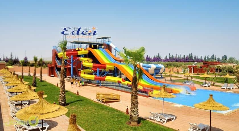 إيدن أندالو أكوابارك آند سبا - شامل كلياً افضل فندق في مراكش