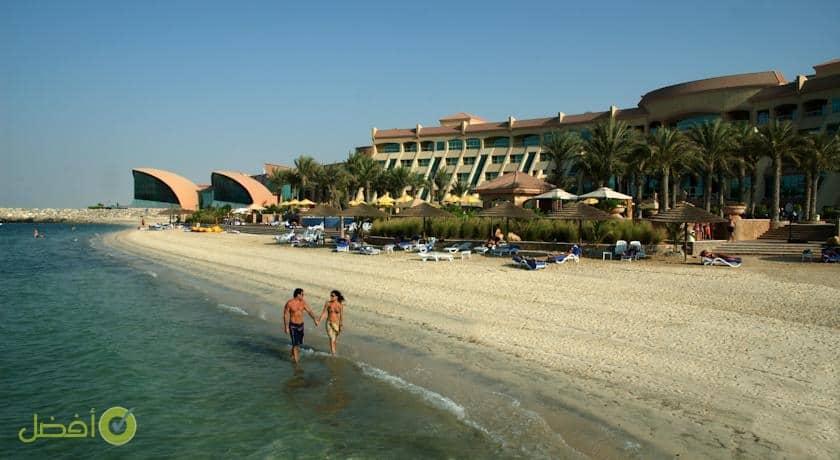 فندق شاطئ الراحة من افضل فنادق جزيرة ياس في أبو ظبي