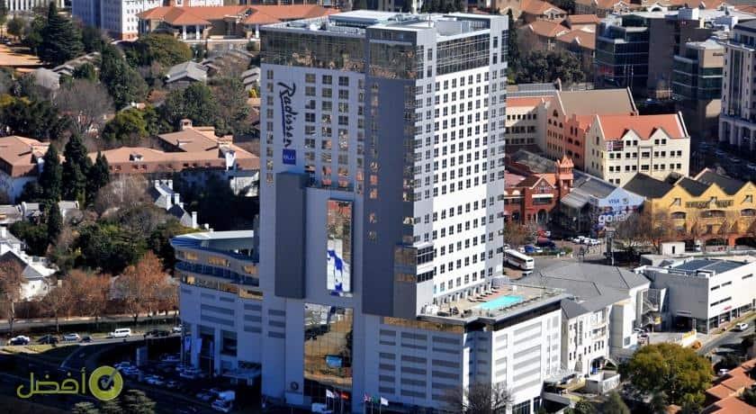 فندق راديسون بلو ساندتون، جوهانسبرغ افضل فنادق جوهانسبرغ