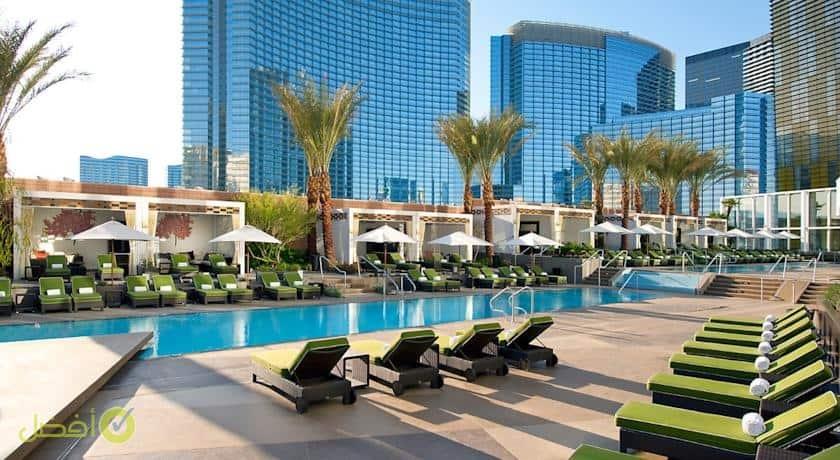 مندرين اورينتال في لاس فيغاس سيتي سنتر من افضل الفنادق في لاس فيغاس