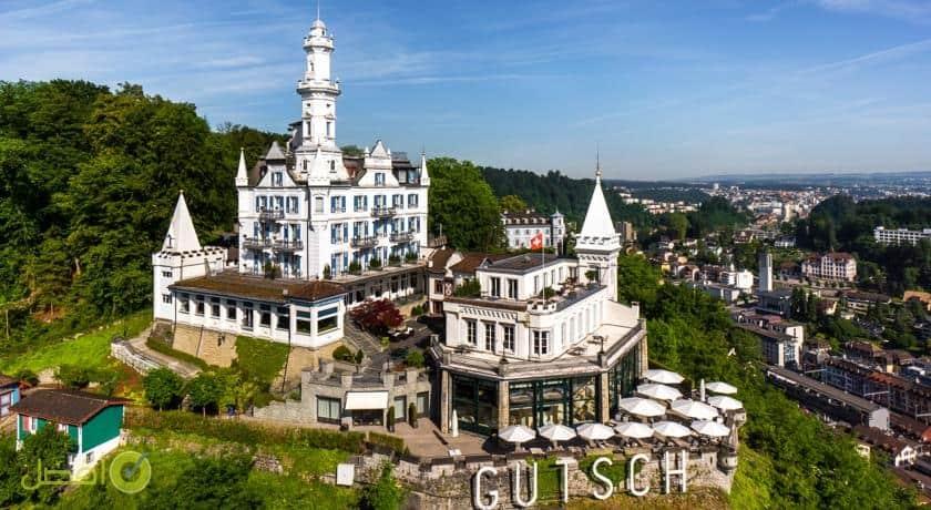 شاتو غيتش من افضل الفنادق في لوزيرن سويسرا