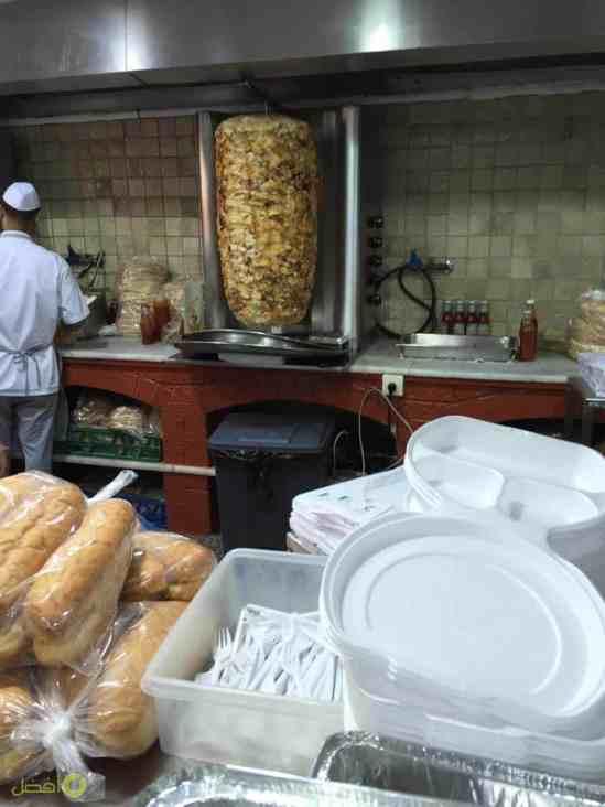 شاورما الصاج الذهبي في الرياض