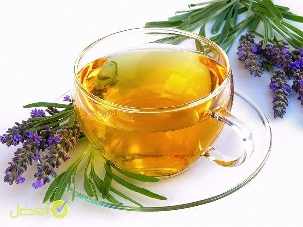 شاي اللافندر علاج رجفة اليدين عند صب القهوة