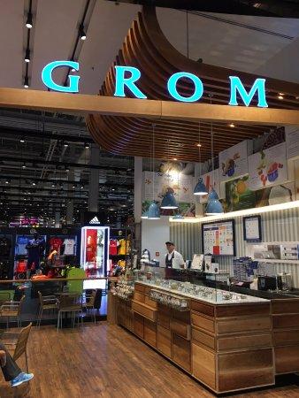 محل الايس كريم في دبي غروم