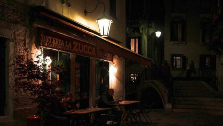 لا زوكا LA ZUCCA افضل المطاعم في فينيسيا البندقية