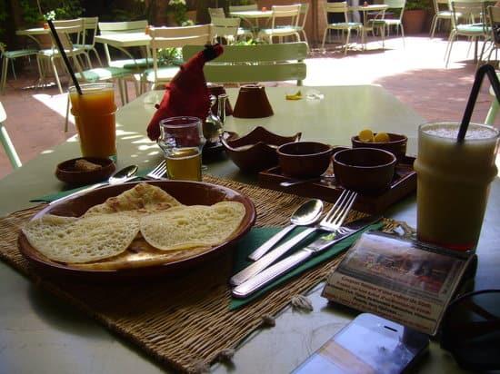 كوفي جاردان مراكش Cafe Jardin Majorelle Marrakech