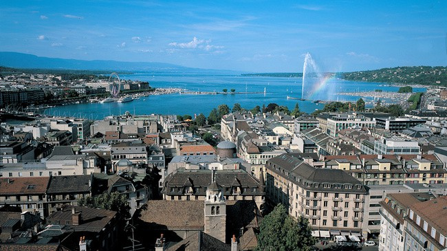 جنيف من أفضل مدن سياحية في سويسرا