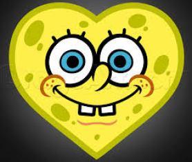 spongebob heart