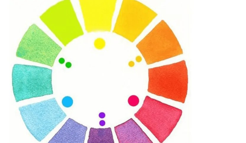 color scheme in the drawing