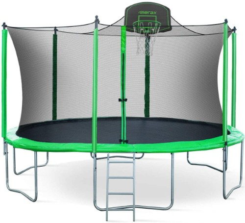 Merax Trampoline with Safety Enclosure