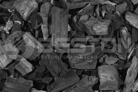 Wood Charcoal Making Machine