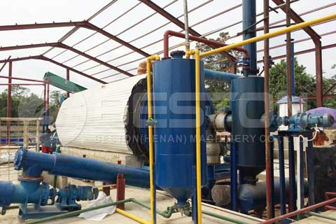 Automatic Continuous Pyrolysis Machine