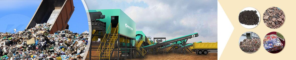 solid waste management plant banner