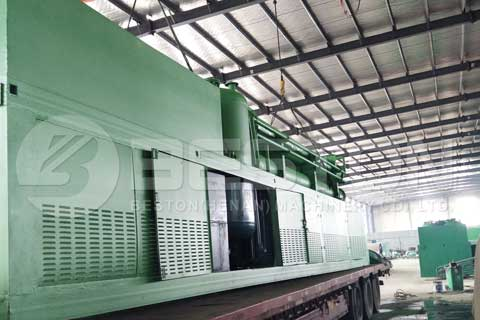 Fully Continuous Tyre Pyrolysis Plant for Sale