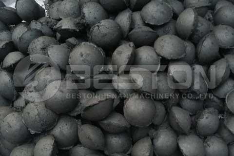 Rice Husk Charcoal Making Process