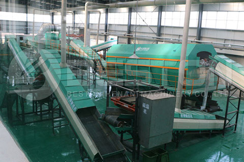 Material Recovery Facility – Sorting Machine