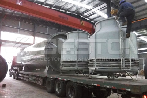 Shipment of Tyre Pyrolysis Machine to Brazil