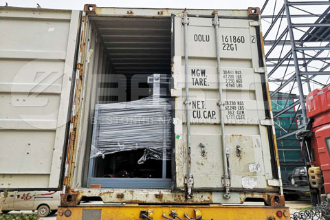Delivery of Small Paper Egg Tray Making Machine to Ghana