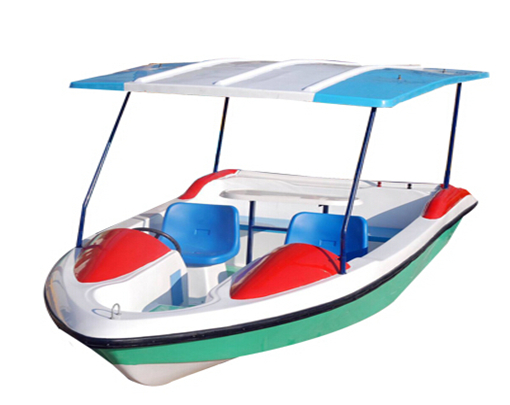 Amusement park electric motor paddle boat