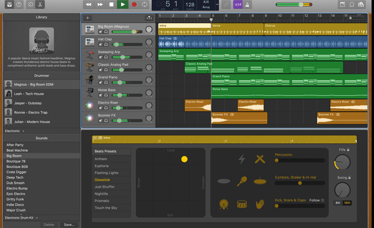 garageband for beat making software for mac