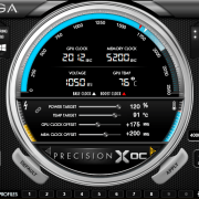 EVGA Precision XOC overclocking software
