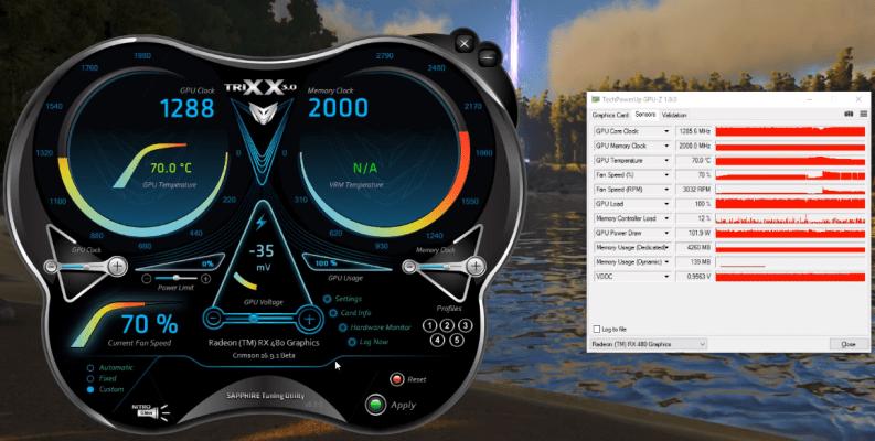 Sapphire TriXX to overclock gpu
