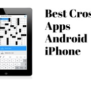 Best Crossword Apps android iphone