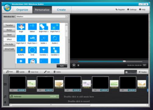 DVD Slideshow Builder wondershare