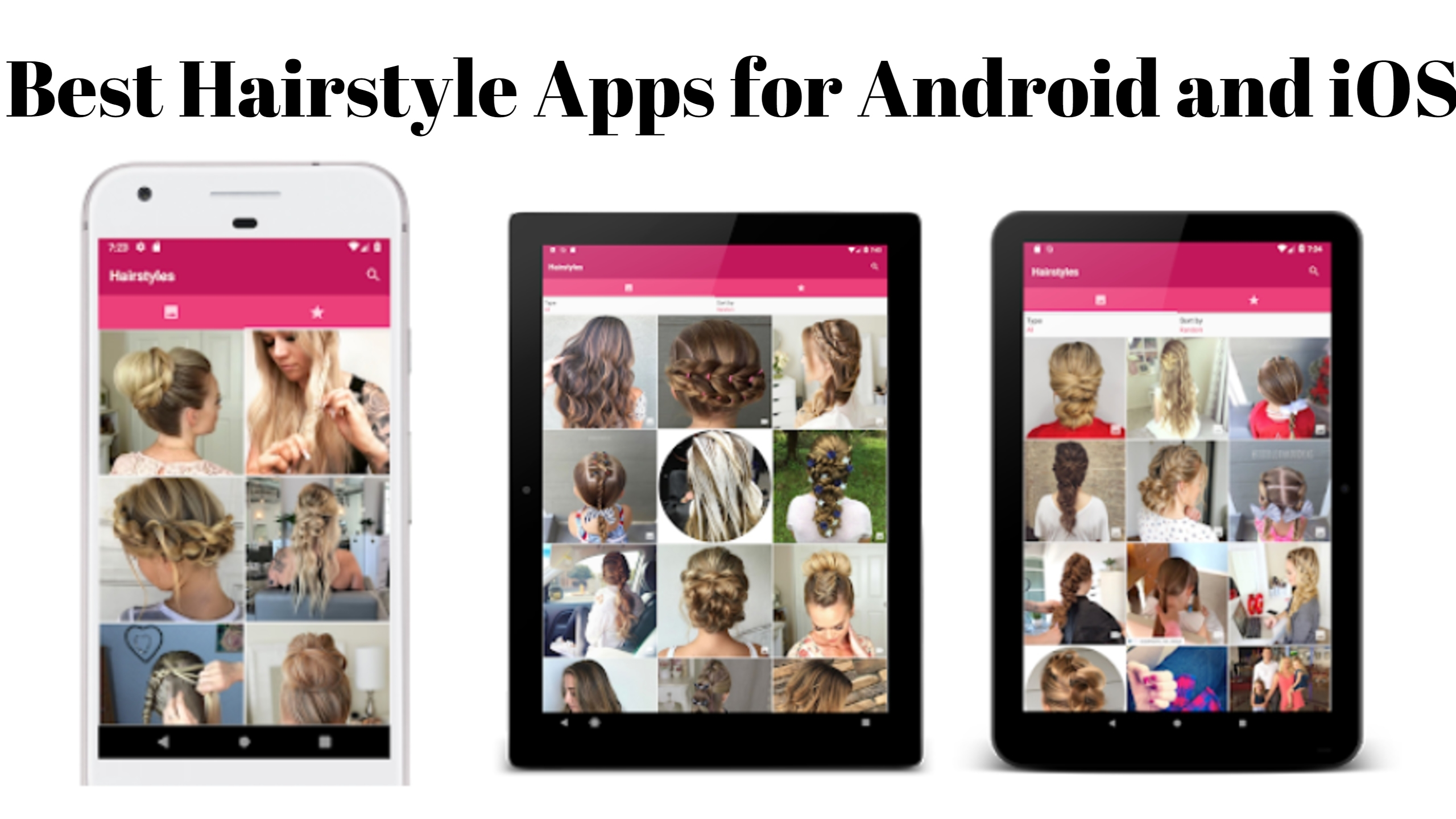 10 Best Hairstyle Apps For Android And Iphone Bestoob