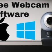 free webcam software windows mac
