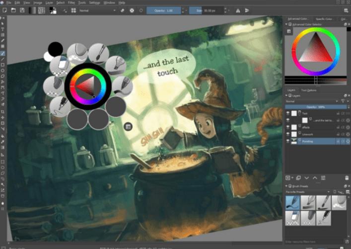 krita painting software free