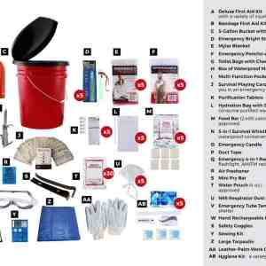 5 Person Survival bucket readywise