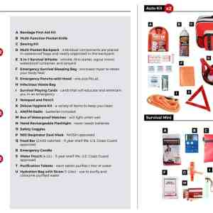 Preparedness Package 2 survival kit bug out bag