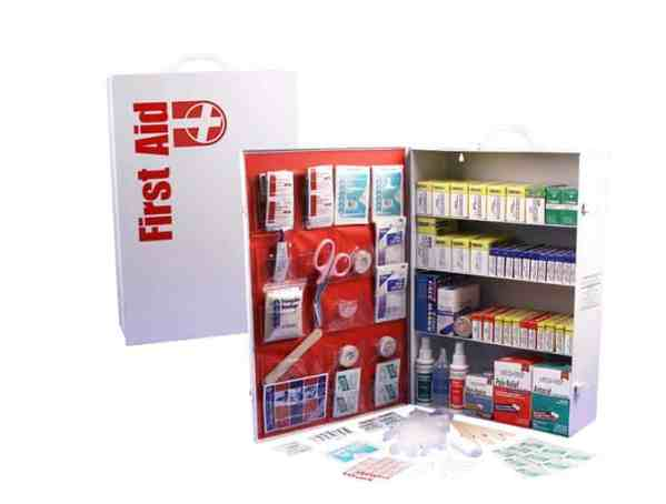 cabinet first aid shelf