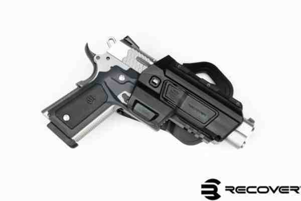 Recover Tactical - HC11 ACTIVE RIGHT TAN FOR THE 1911 WITH  CC3H/P