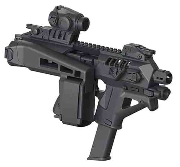 04BS-Micro Roni Stab Gen 4 CAA Industries with integrated lower angled fore-grip and a Magazine Holder