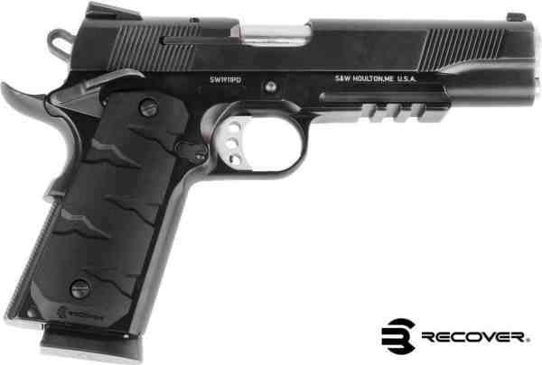 Recover Tactical - RG11 TAN  QUICK CHANGE 1911 RUBBER GRIPS T-REX