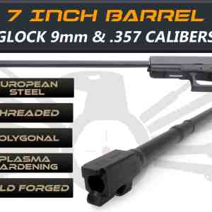 "Glock 35 9mm caliber - 7.5"" Threaded Barrel"