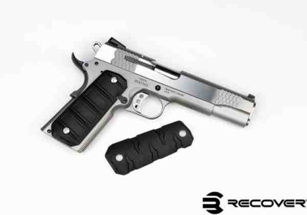 Recover Tactical - RG11 & RG15 SET BLACK QUICK CHANGE RUBBER GRIPS