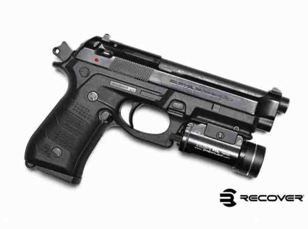 Recover Tactical - BC2 TAN BERETTA 92/M9 GRIP AND RAIL SYSTEM