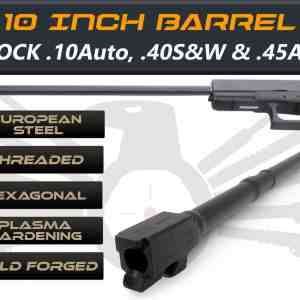 "Glock 21 .10 auto caliber -10"" Threaded Barrel"