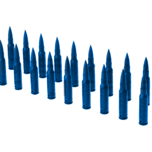 DUMMY BULLET 7.62X51 (20 pcs. Pack) - blue
