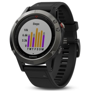 Garmin Fenix 5 Sapphire activity tracker watch