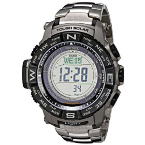 Casio Men's Pro Trek Tough Solar Digital Sport Watch