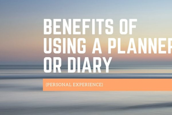 Benefits of Using a Planner