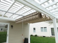 Pergola Retractable Shade Covers | Pergola Design Ideas