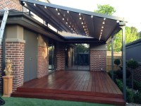 Pergola With Retractable Shade Canopy | Pergola Design Ideas