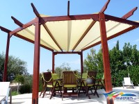 Shade Cloth Pergola Cover | Pergola Design Ideas