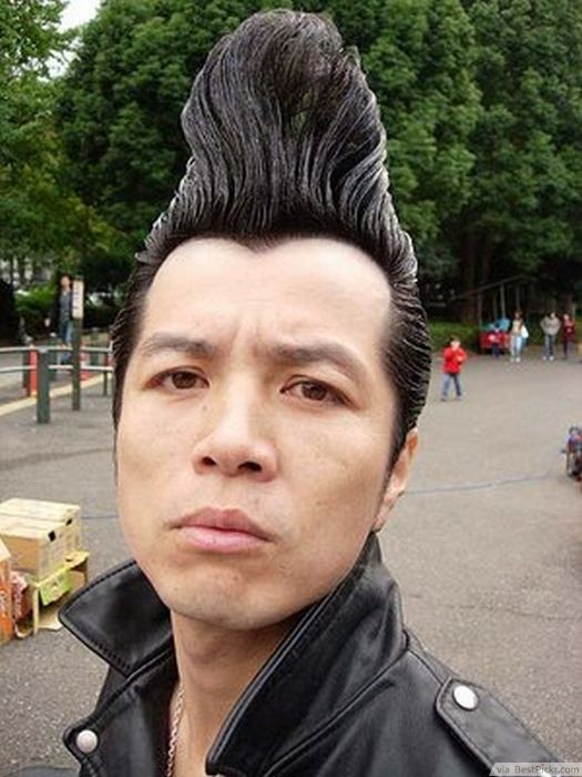 10 Badass Punk Hairstyles For Men In 2017 BestPickr