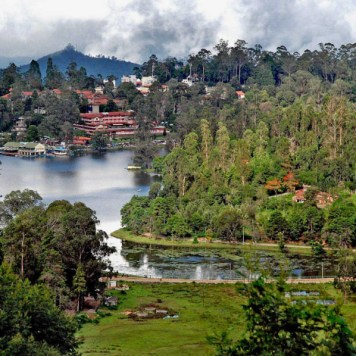 Lake in Kodaikanal